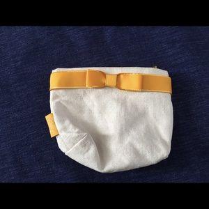 NEW! L'Occitane Off-White Cosmetics Pouch